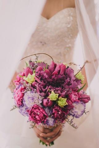 deep colored bouquet5