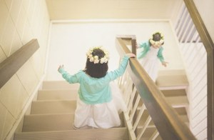 flower girl cardigan1