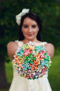 origami bouquet 1