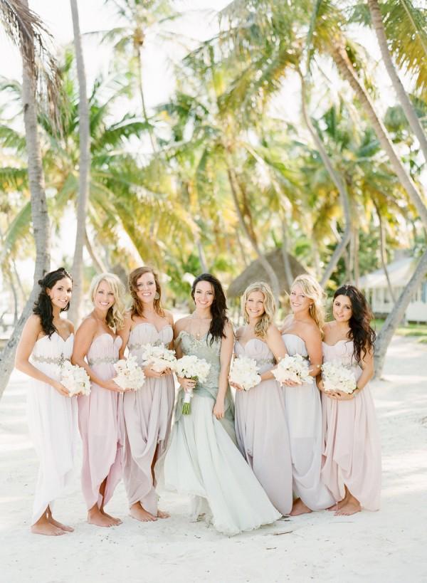 Pastel Bridesmaid Dresses 15