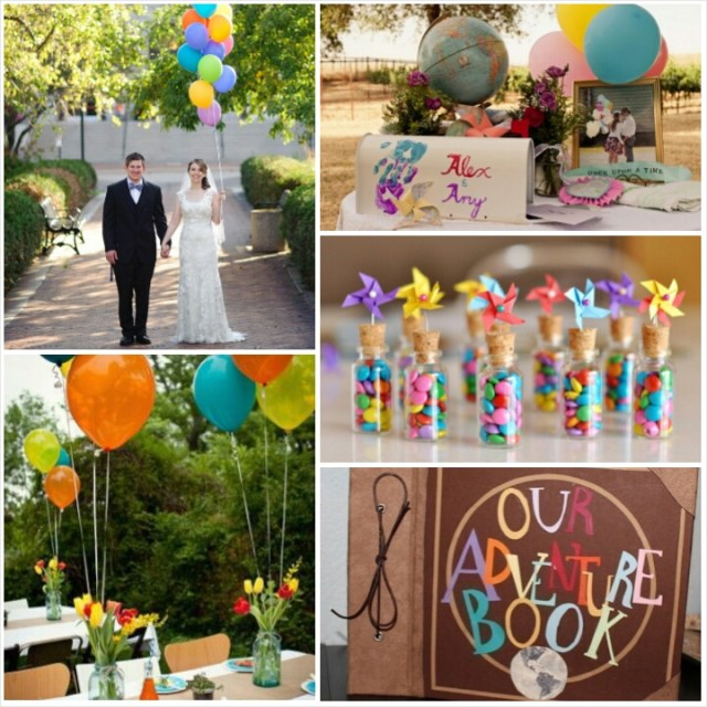 Up Movie Wedding Inspirations