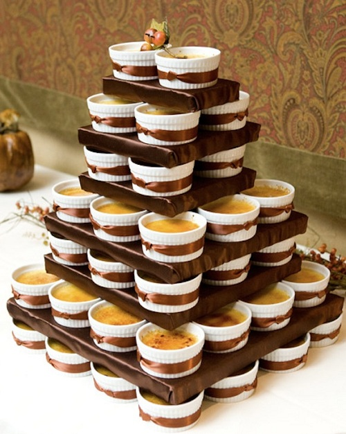 16 Creme Brulee Cake