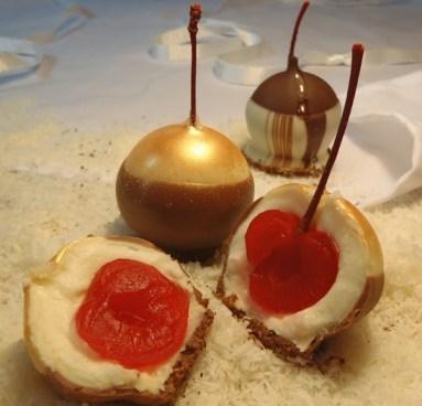 Golden Butter Rum & Dark Mocha Cherry Bombs