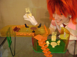 cherry and her dollhouse