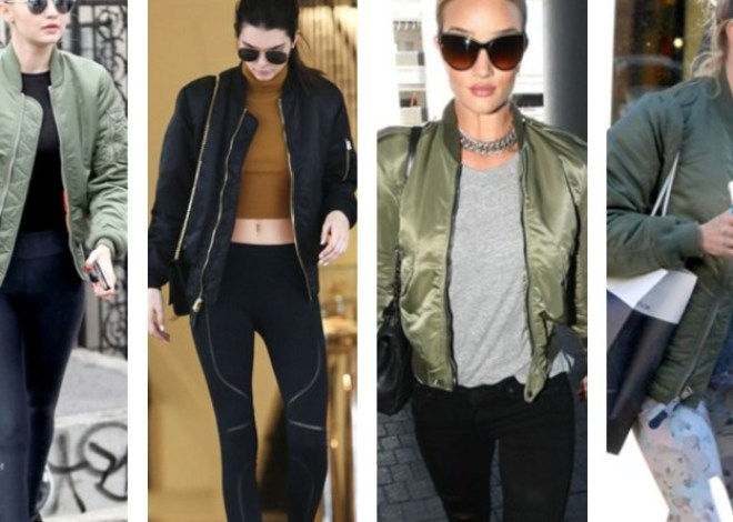 Ways to wear a bomber jacket