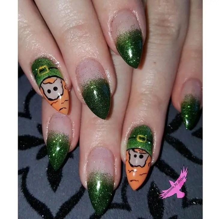 St Patricks Day Nails