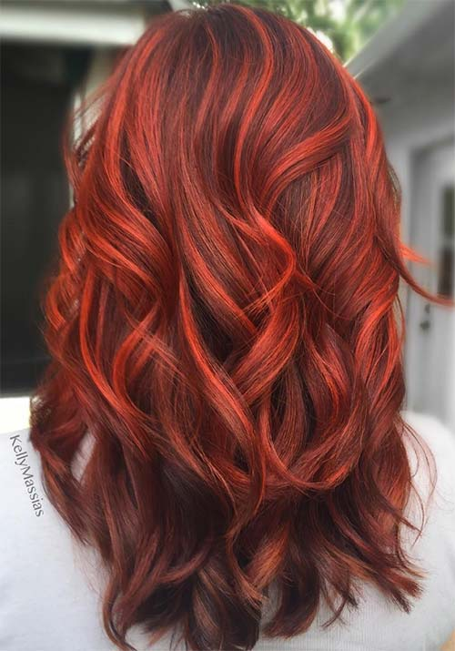 21 Dark Red Hair Ideas Cherrycherrybeauty
