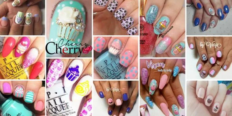 21 Cupcake Nail Designs