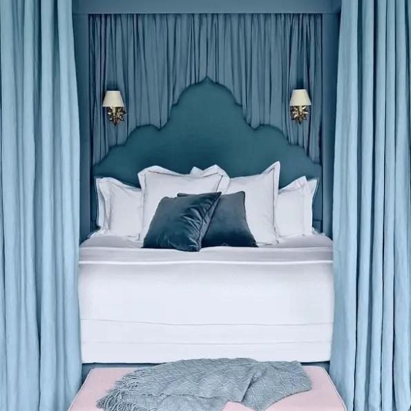 Beautiful Blue Bedrooms 19