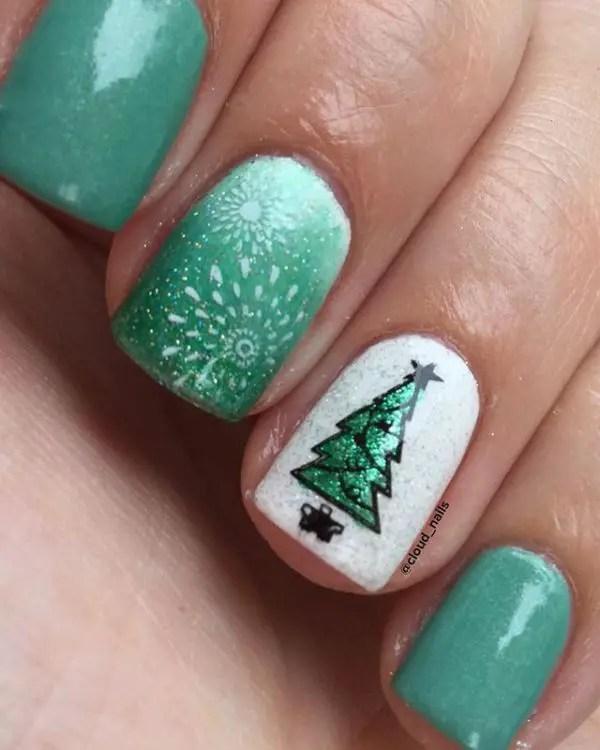 Christmas 2017 Mani Ideas 14