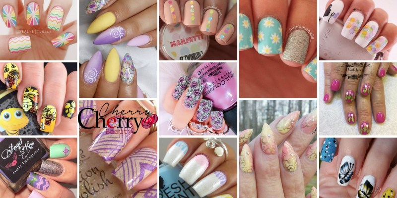 21 Spring Nail Looks - CherryCherryBeauty