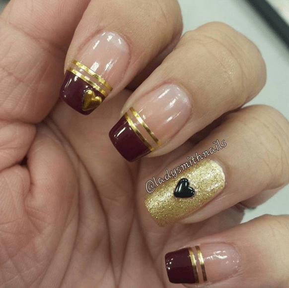 Nails for Valentines Day 17