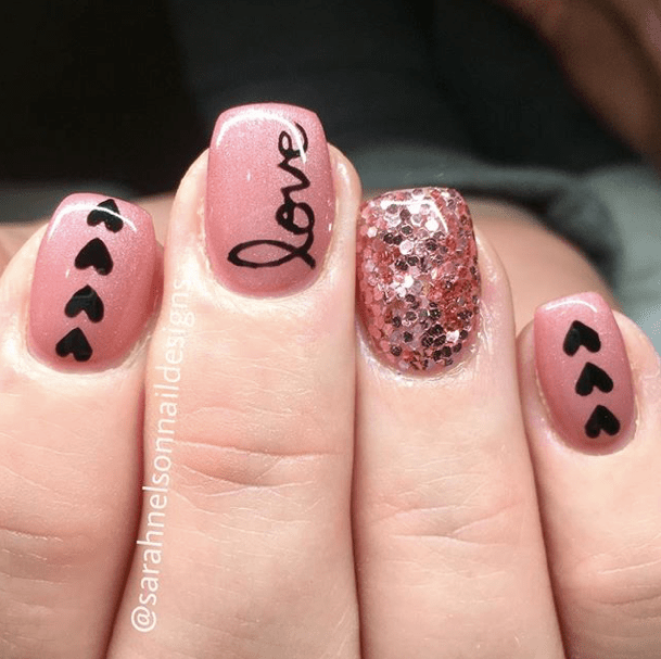 Nails for Valentines Day 20