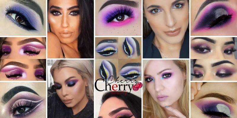 Purple Eyeshadow Looks for Brown Eyes