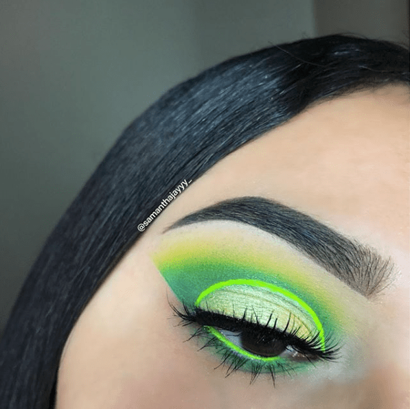 Makeup for St Patricks Day 2