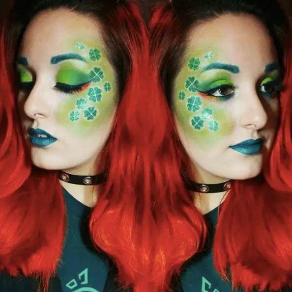 Makeup for St Patricks Day 28