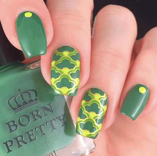 Nails for St Patricks Day 12
