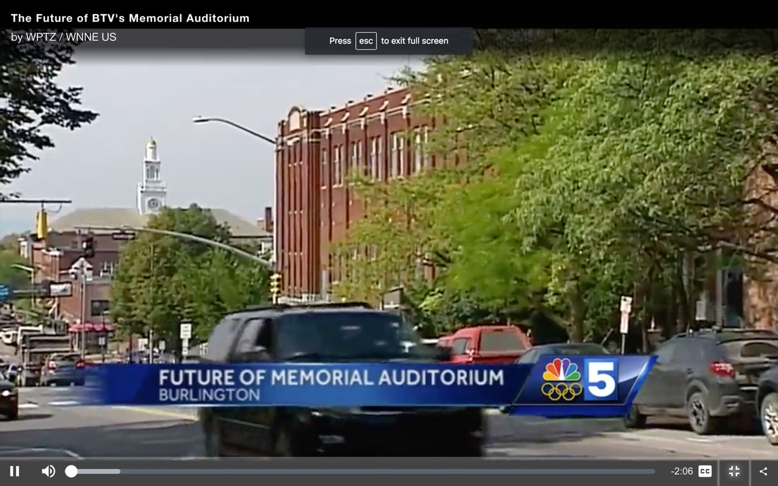 NBC 5, The Future of Memorial Auditorium