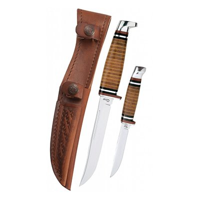 M3FINN & 316-5 SS Leather hunter
