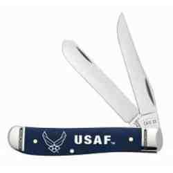 U.S. Air Force Embellished Smooth Natural Bone Trapper