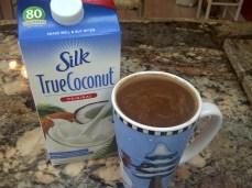 Coconut milk+cocoa is pretty awesome