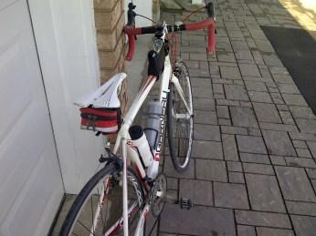 New saddle on!