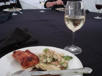 Lunch + White wine