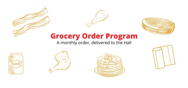 Grocery Order Program
