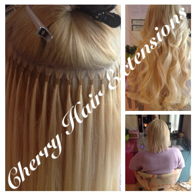 Application Methods Cherry Hair Extensions Human Hair