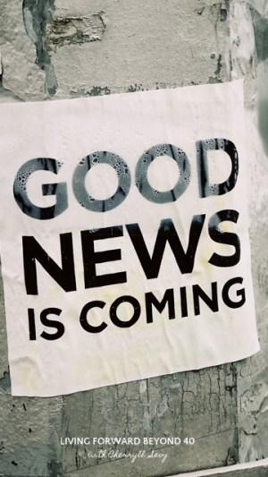 Good News phone wallpaper