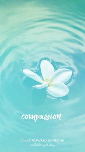 Compassion smartphone wallpaper