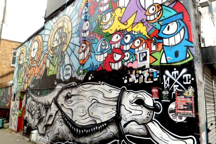 Brick Lane Street Art London