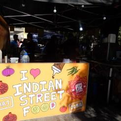 Vegetarian Indian street food