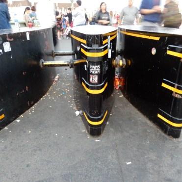 Southbank London River Thames barriers DSCN7948