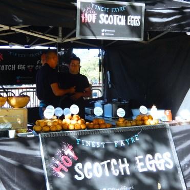 Southbank London River Thames scotch eggs food DSCN7867