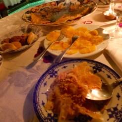 Dinner in a Riad Morocco Marrakech DSCN8536