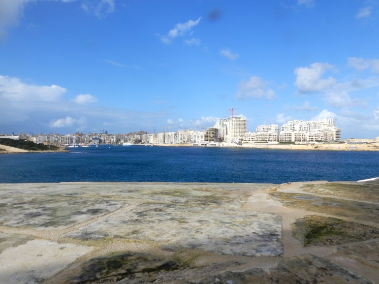 Views of Sliema from Valletta