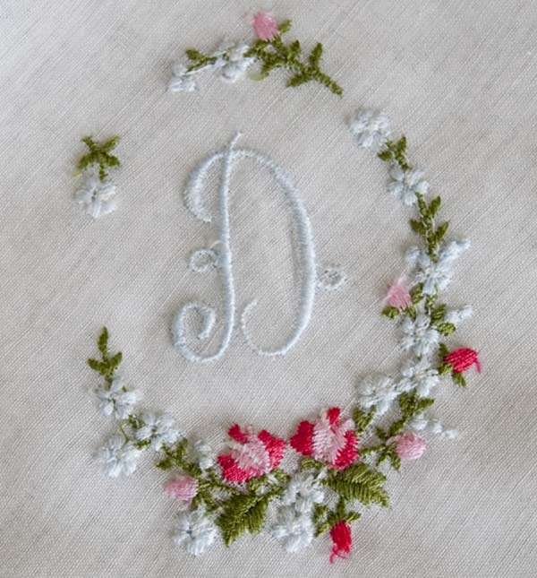 Simple Hand Embroidery Designs For Handkerchiefs Www