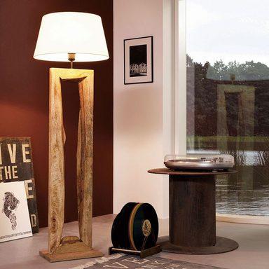 Stehleuchte TIMBER in einer extravaganten Holz-Optik