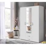 33% sparen – Kleiderschrank PISA weiß 120 cm von WIMAX – nur 88,00€