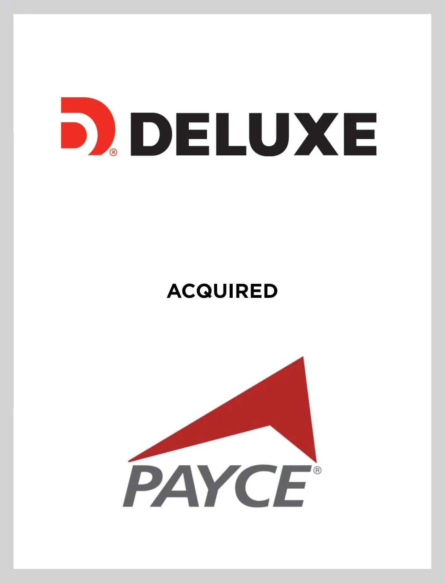 Deluxe/Payce Case Study