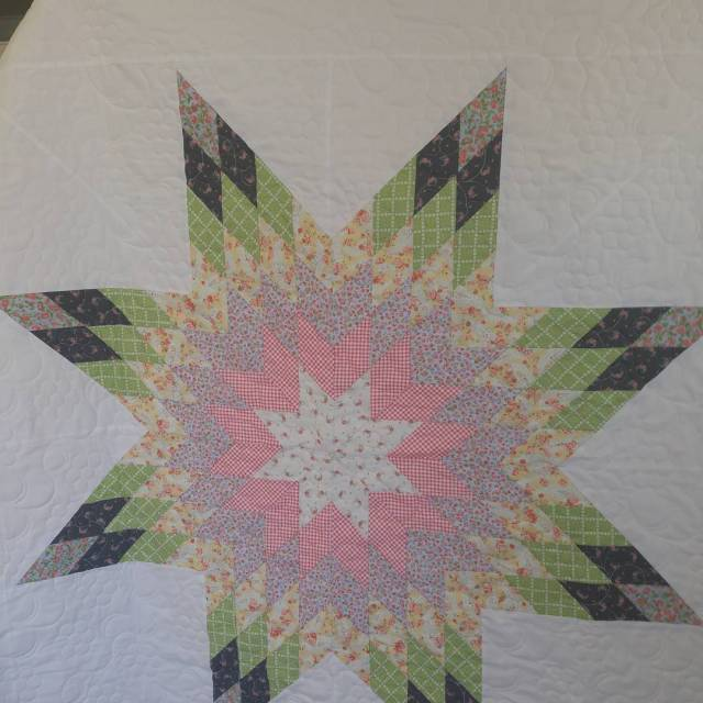 Darling quilt using Guernseyfabricfrommoda! Stop by and see us athellip