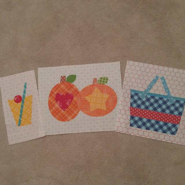 Getting ready for Bee Happy block of the month Thishellip