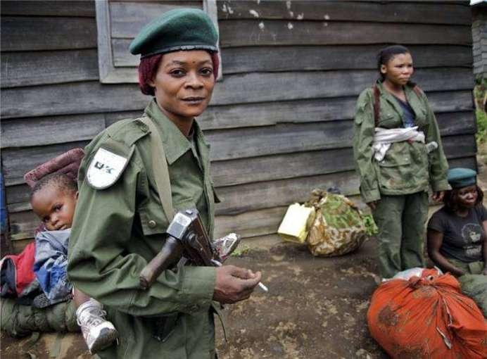 5. Демократическая республика Конго женщины, страны, страх, факты