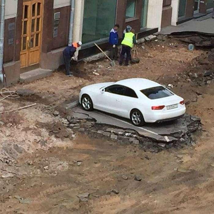 «Пусть хоть целый город вокруг построят, но машину не переставлю!»
