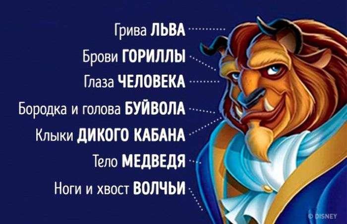 Секреты диснеевских мультфильмов