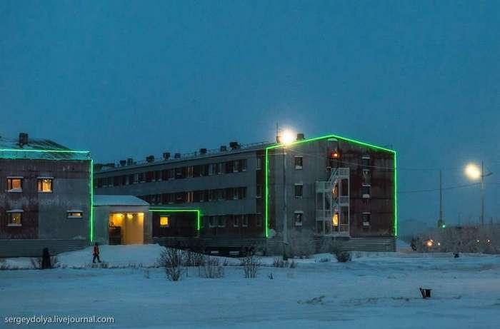 Как живут газовые вахтовики на крайнем севере (31 фото)