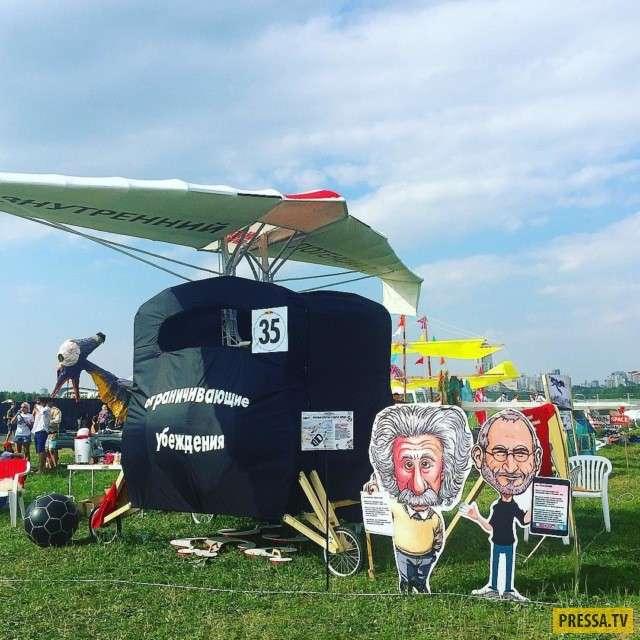 Эпический фестиваль Red Bull Flugtag-2017 в Москве (13 фото)