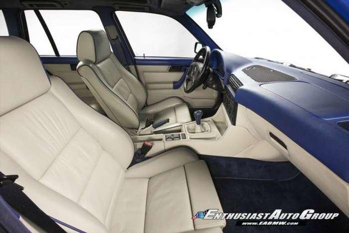 Голубой BMW M5 E34, выпущенный всего в двух экземплярах-12 фото-