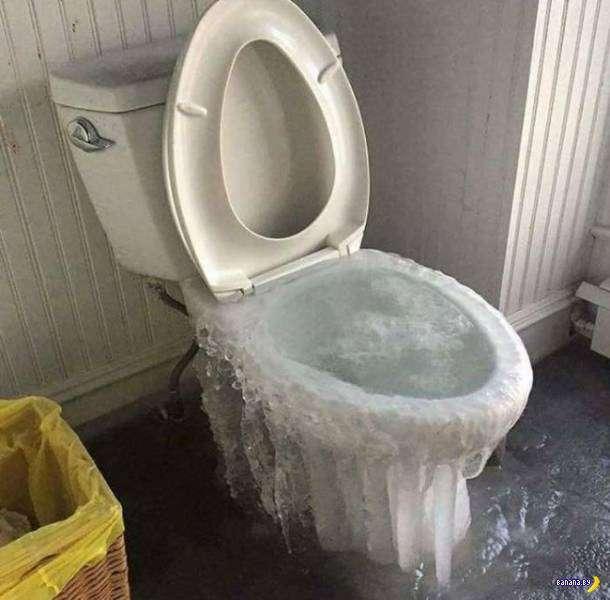 Вот это зима!